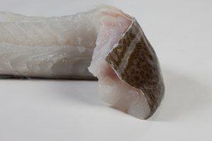 Kabeljauwhaas met vel